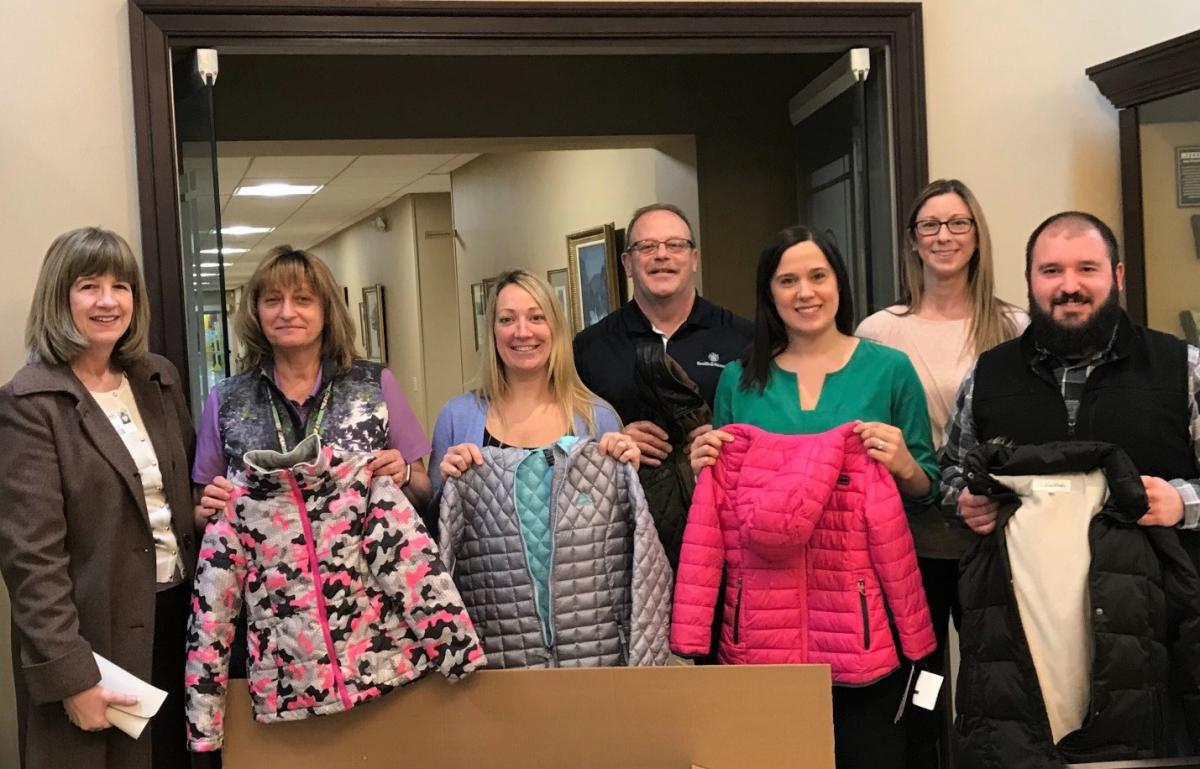 UWPV Coat Drive with Smith & Wesson